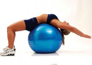 Abdominal-Stretch-With-Bobath-Ball