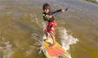 Davi Ribeiro – Youngest Kitesurfer – 3 Years Old – the new Youri Zoon in 20 years?
