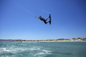 Keros Kitesurfing Event 2011. Keros Beach, Limnos Island.