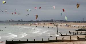 hampshire kitesurfing