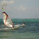 windsurfer-and-kitesurfer